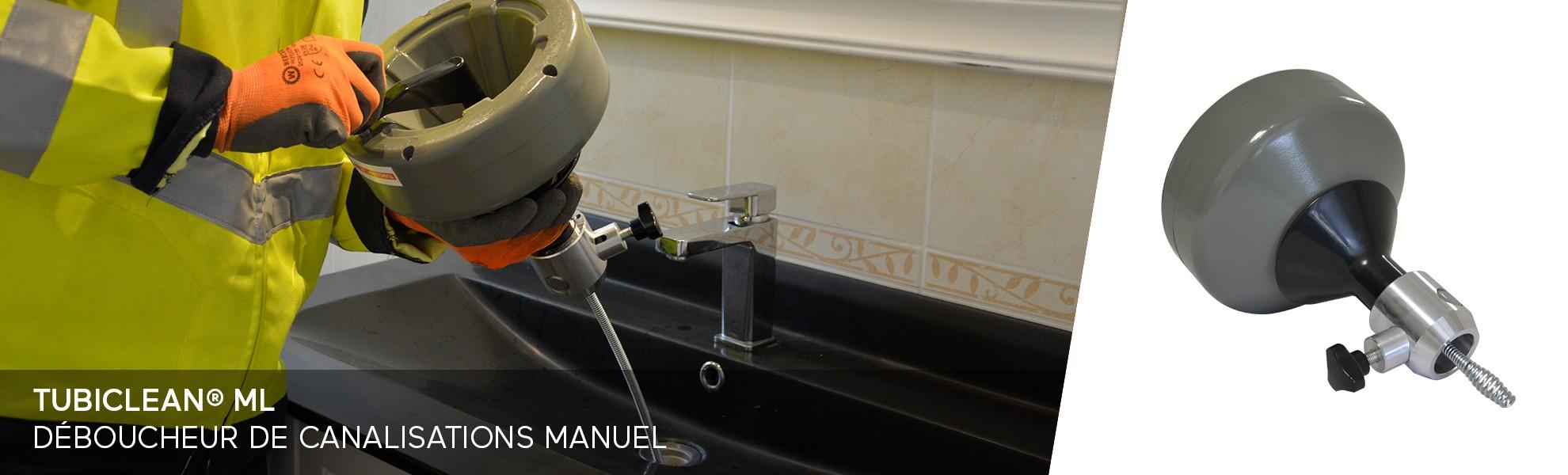 Tubiclean® ML - Déboucheur de canalisations manuel