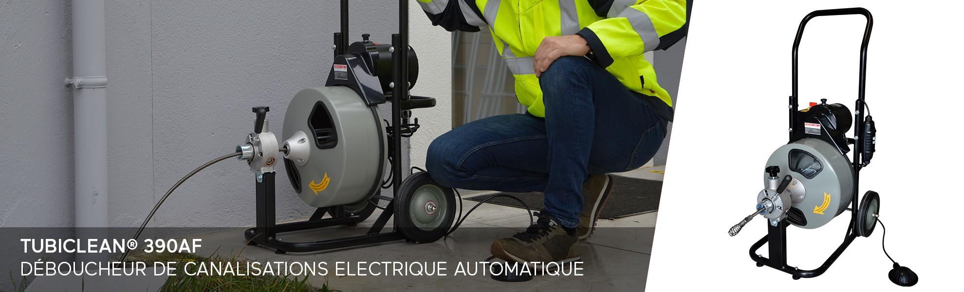 Tubiclean® 390AF - Déboucheur de canalisations automatique